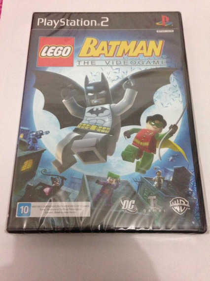Lego Batman Playstation 2 Original Lacrado Ps2 Play 2
