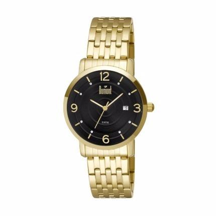 Relógio Dumont Feminino Dourado Du2115bp/4 - Frete Grátis!!!