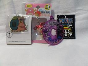 Kit Chaveiros Anime 3 Unidades One Piece Importado Do Japão
