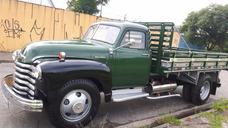 Pickup Antiga Caminhão Boca De Sapo 1950 Chevrolet