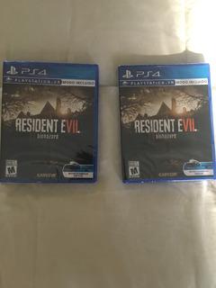 Resident Evil 7: Biohazard Ps4 Envio Gratis 24 Hrs