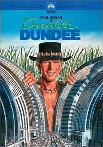 Dvd Cocodrilo Dundee ( Crocodile Dundee ) - Peter Faiman