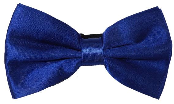 Gravata Borboleta Azul Marinho Com Regulador Ref 247