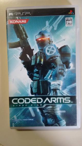 Jogo Psp Original Codec Arms