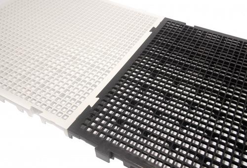 Imagem 1 de 6 de 12 Estrado Plastico Pallet Preto Fabrica Piso Elevado