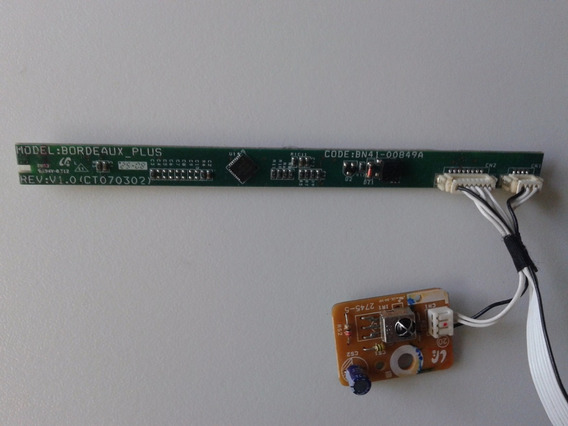 Placa Pci Função + Sensor Infra Tv Samsung Bn41-00849a