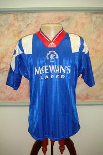 Camisa Futebol Rangers Glasgow Escocia Antiga adidas 785