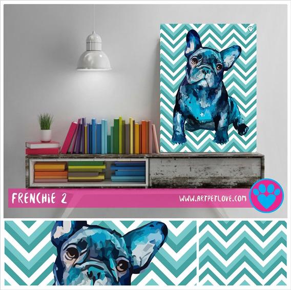 Cuadro - Art Pet Love - Frenchie 2.