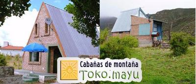 Cabaña Casas En Potrerillos Para 2, 6 8 Y 10 Personas Desde