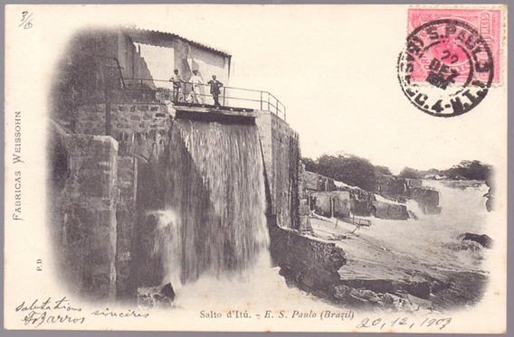 Pierre Doumet - Fábricas Weissohn - Salto Do Itu - São Paulo