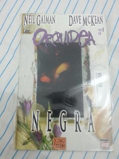 Hq Orquidea Negra- Neil Gaiman Completo 3 Edições