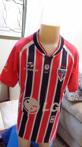 Camisa Do São Paulo Campeão 2005 Da Topper Habib's