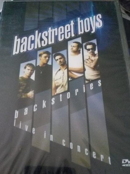 Dvd Backstreet Boys - Backstories (live Concert)