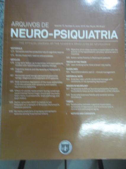 Revista - Arquivos De Neuro-psiquiatria - V.73 N°1 Jan 2015
