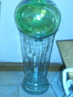 Florero Y Esfera Cristal