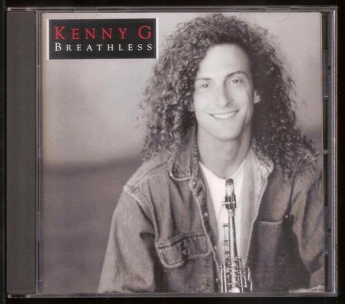 Cd Kenny G Breathless Importado Mercado Livre
