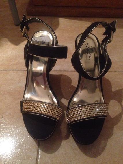 Zapato Gala De Gamuza Nuevo Sin Uso Traído De California