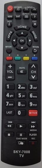 Controle Remoto Panasonic Lcd Viera Com Tecla Netflix