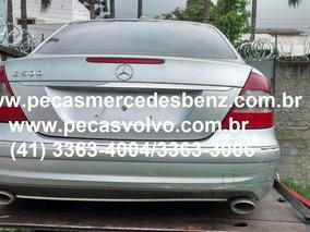 Mercedes E500 E350 E320 Sucata Em Peças/motor/cambio/farol