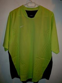 Playera Nike Total 90 Dri Fit Verde Limon