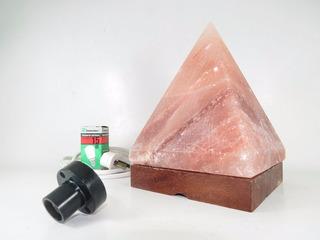 Lampara Sal Himalaya-forma Piramide-envios