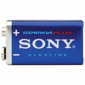 Bateria 9v Sony Stamina Alkalina Kit 60pçs