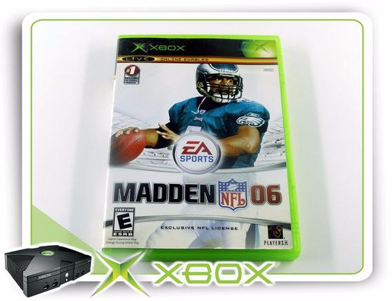 Madden Nfl 06 Xbox Clássico Ntsc Original