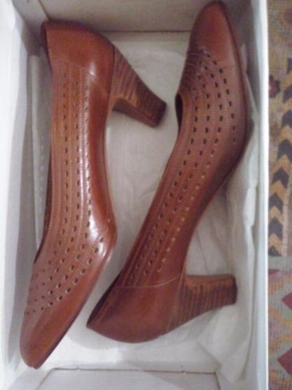Zapato Cuero Clasico