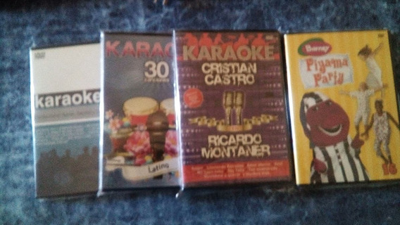 Dvd Karaoke + Barney