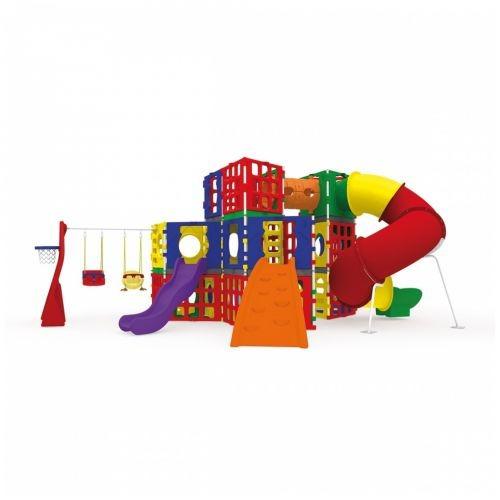 Playground Polyplay Colossos Xalingo - Com Frete Grátis Pr
