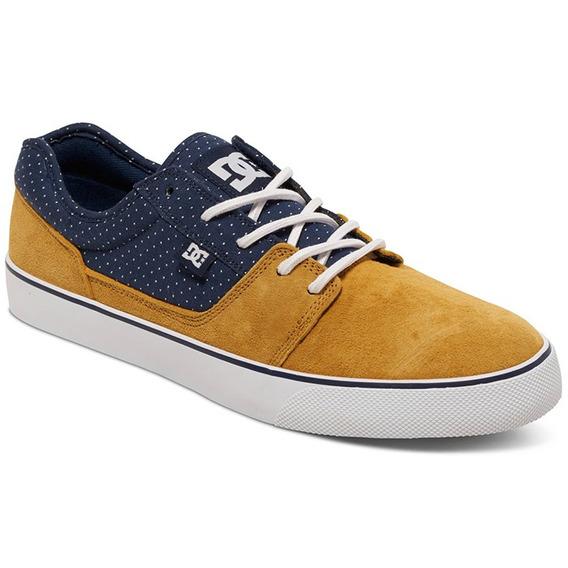 Tenis Calzado Hombre Tonik Se Fall 2016 Ama/azul Dc Shoes