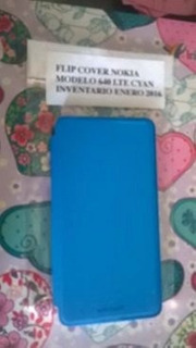 Stock Protector Estuche Lumia 640 Xl Flip Cover Stock