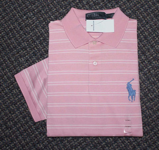 Camisa Polo Ralph Lauren Tamanho Gg / Xl Big Pony Malha Fria