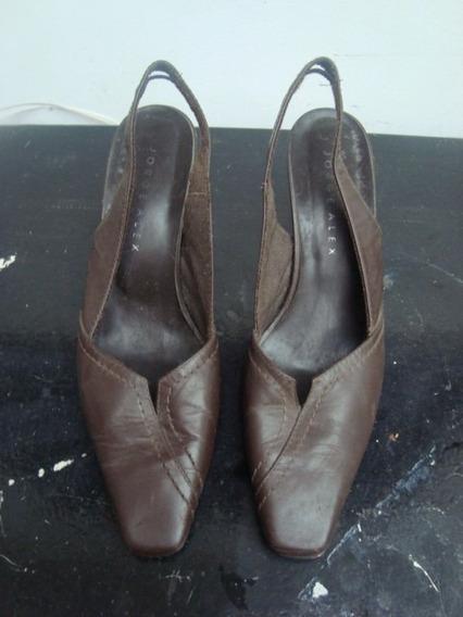 Sapato Da Jorge Alex (couro Legitimo) 37