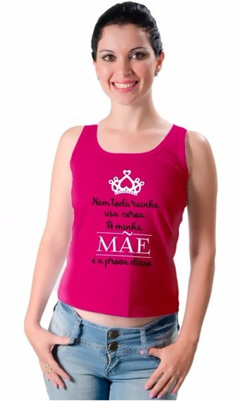 Camiseta - Coroa Mãe