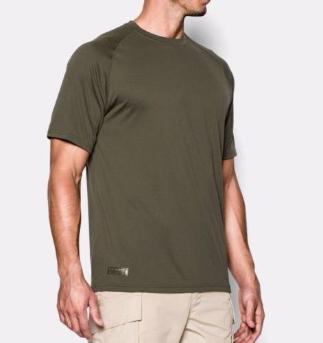 Camiseta Tatica Under Armour Tecnologica Verao Verde Oliva