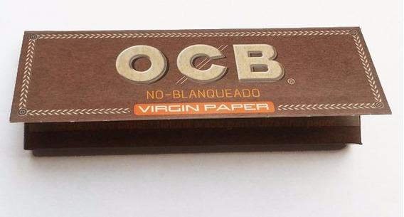 Papel Ocb Virgin Paper - No Blanqueado Ultra Fino X 10 Unid