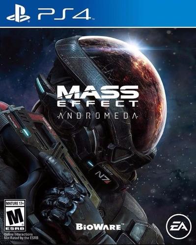 Mass Effect Andromeda Ps4 Físico Sellado En Palermo