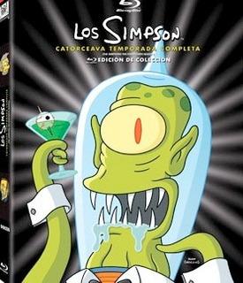 Los Simpsons - Temporada 14 Dvd - O