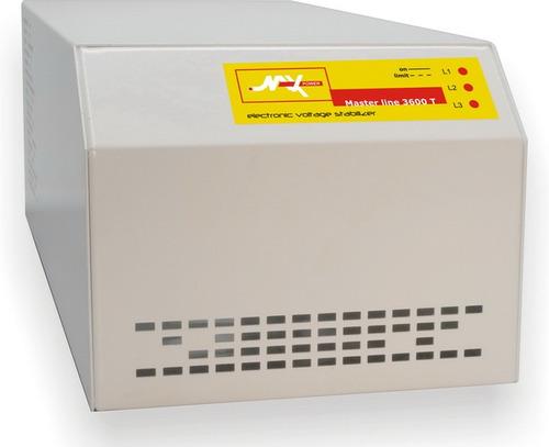 Imagen 1 de 6 de Regulador Bifasico Master Line 6000-b