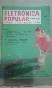Revista Eletronica Popular Rastreador De Metal Busca Do Ouro