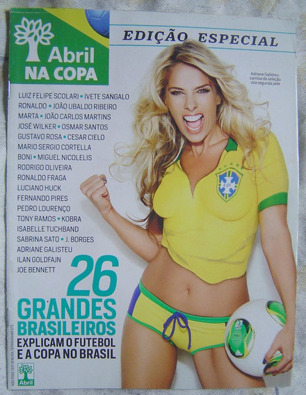 Revista Abril Na Copa - Edição Especial.