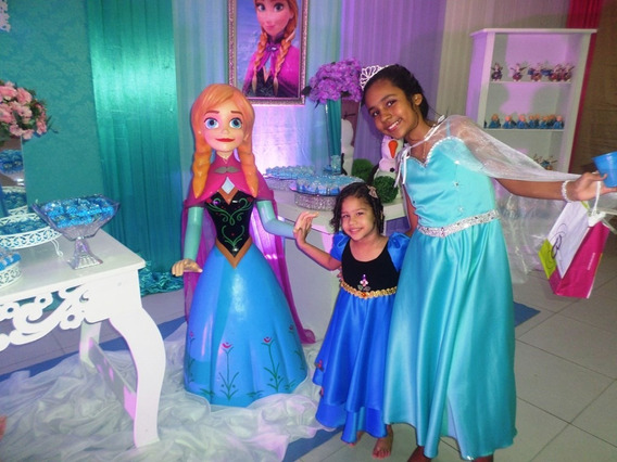 Vestido Frozen Da Ana