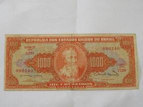 Cédula Mil Cruzeiros 1963