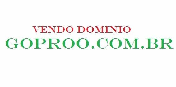 Dominio Goproo.com.br Go Pro Gopro