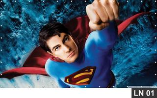 Painel De Festa Aniversário Superman 3,00x1,40m Lona