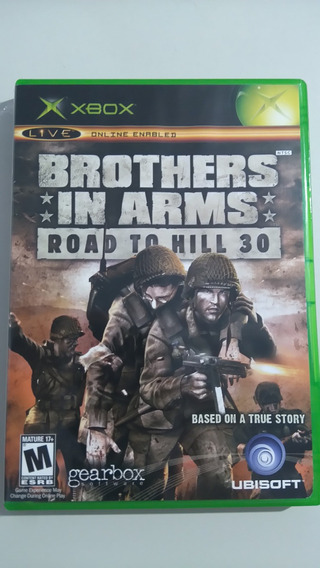 Brothers In Arms Road To Hill 30 Xbox Clássico