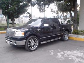 Ford Lobo 2008, Negra, Motor 5.4 Lt, Segundo Dueño