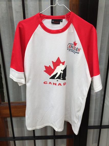 Remera Nhl (ascend) Usa,team Canada Talle Xl