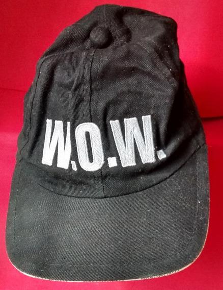 Guerra Dos Mundos - Boné - Com As Letras Wow.